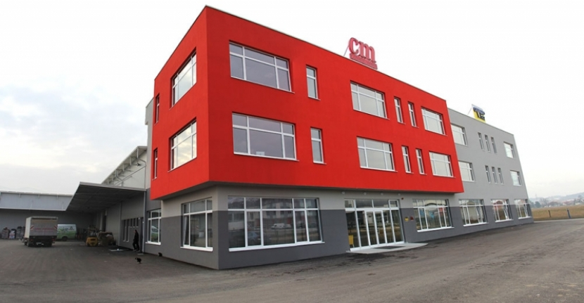 Opening a new office building of the companies Ovnak / cm